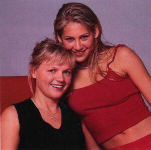 Анна Курникова с мамой