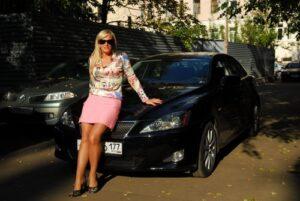 Наталья Гулькина, автомобиль