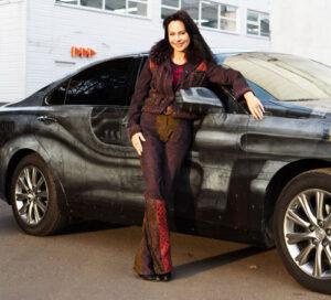 Марина Хлебникова. Авто