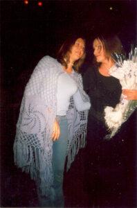 Яна Лысенко с Софией Ротару