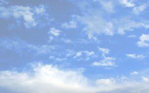 Лазурное небо