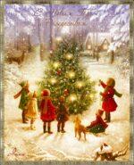 Душистый запах ёлки новогодней