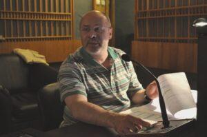 Кинорежиссер Георгий Леванович Шенгелия