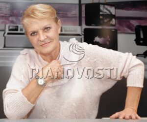 Комментатор Нина Еремина