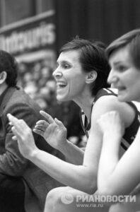 Баскетболистка Татьяна Овечкина