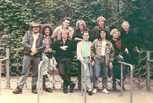 Группа «Цветы» 1989 год.