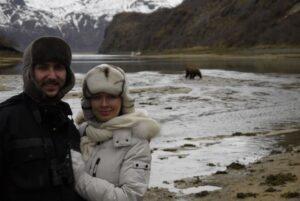 Екатерина Хауэлл с супругом