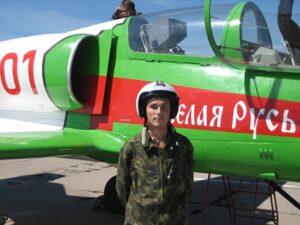 Военный летчик Дмитрий Заславец