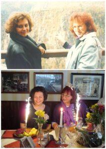 Наталья Ольховская и Gisela. Встреча на юбилее спустя 15 лет