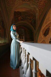 Эльмира Калимуллина в Православном храме.