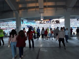 "Стадион ""Нижний Новгород"". Матч Аргентина - Хорватия. Фото Михаила Семёнова."