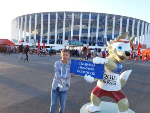 Стадион «Нижний Новгород» — Забивака. Фото Михаила Семёнова.