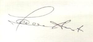 Автограф Томаса Андерса, «Modern Talking»