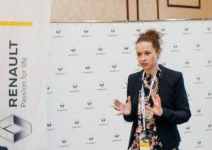 Наталья Русинова Олимпиада Рено, Renault