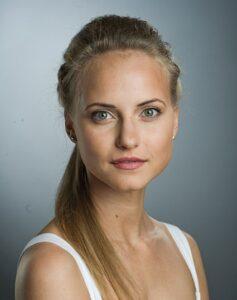 Актриса Анна Бегунова