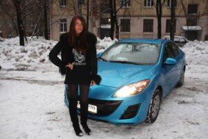 Эмилия Вишневская. Авто