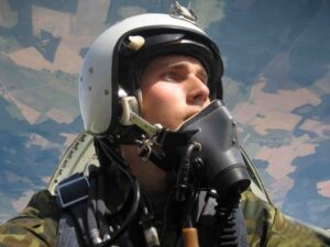 Дмитрий Заславец, летчик