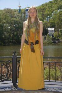 Дизайнер православной одежды Анна Соломкина