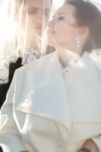 Наталья Русинова с мужем.