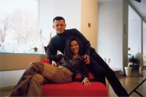 Певица Руслана с мужем