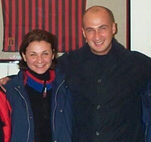 Наталья и Андрей Медведевы, теннисисты