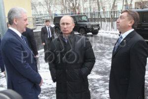 Сергей Собянин, Владимир Путин, Ренат Лайшев