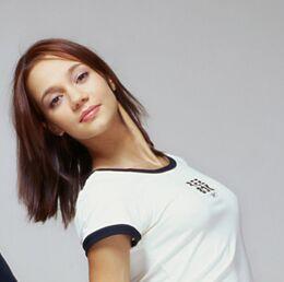 Гимнастка Ирина Чащина