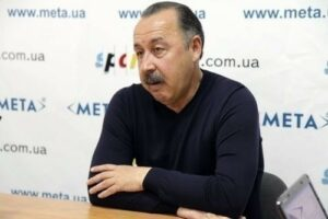 Тренер Валерий Газзаев