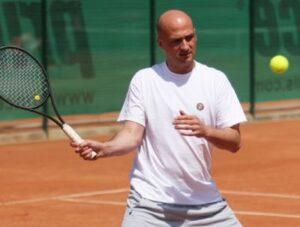 Теннисист Андрей Медведев