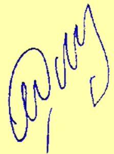 Автограф теннисиста Марата Сафина