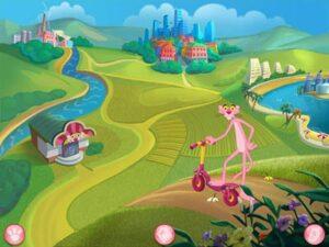 """Игра """"Розовая Пантера против грязи. Спасем Землю от мусора!"""""""