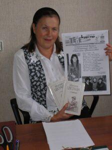 Журналист Лариса Прозорова посвящает Светлане Фатьяновой юбилейный выпуск газеты.
